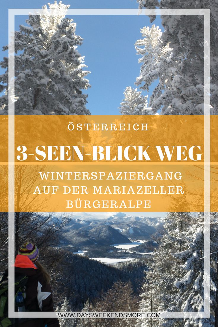 Winterwandern auf der Mariazeller Bürgeralpe - Für Groß und Klein!