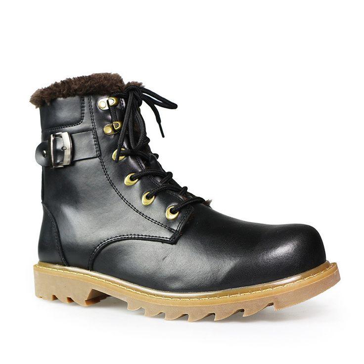 37~49 men winter boots plus size top quality cow split motorcycle retro leather boots #LS008