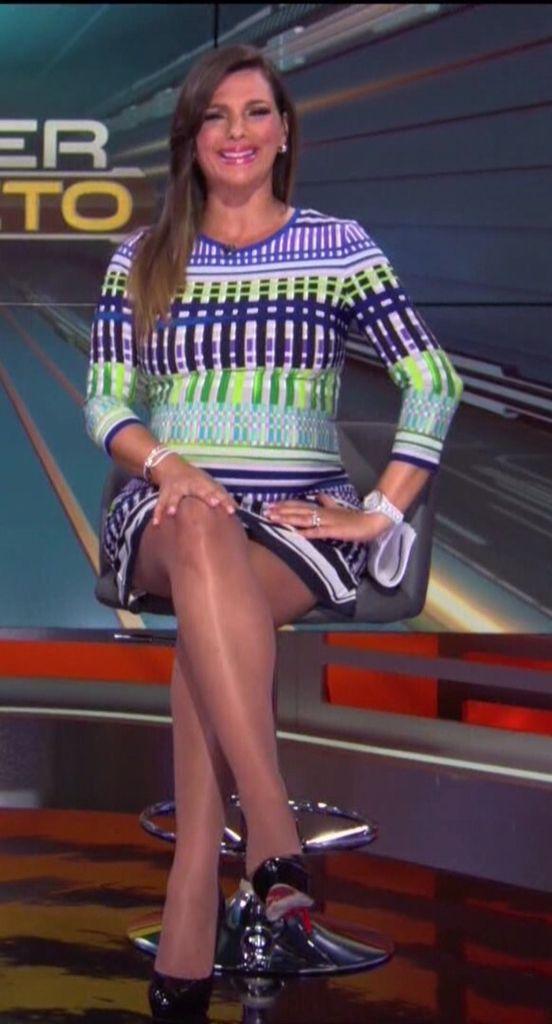 Barbara Bermudo Sexy Legs In Hose Barbara Bermudo