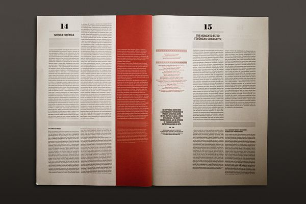 The Jazz 09 Journal by Atelier Martinoña , via Behance