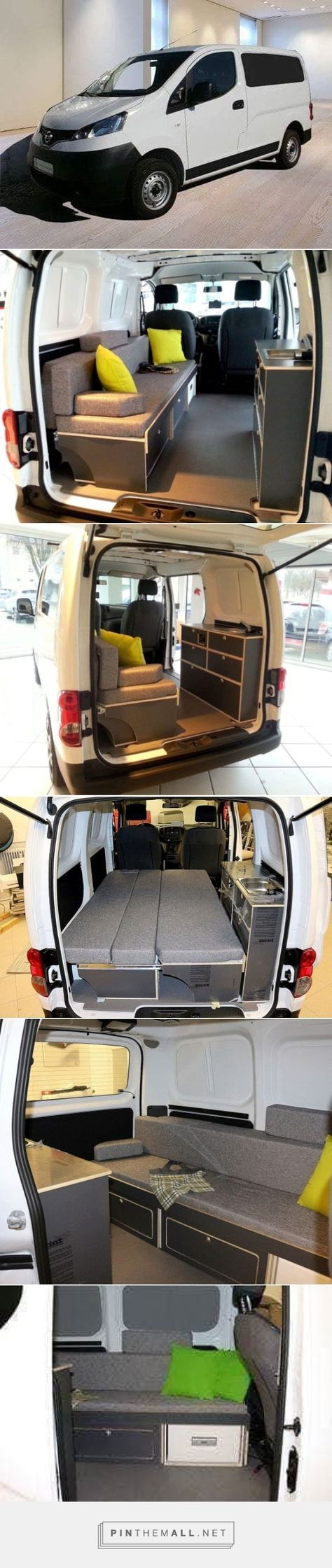 Bed sofa for Nissan NV200 mini-camper in Wetzikon buy at ricardo.ch – created via pinthemall.net