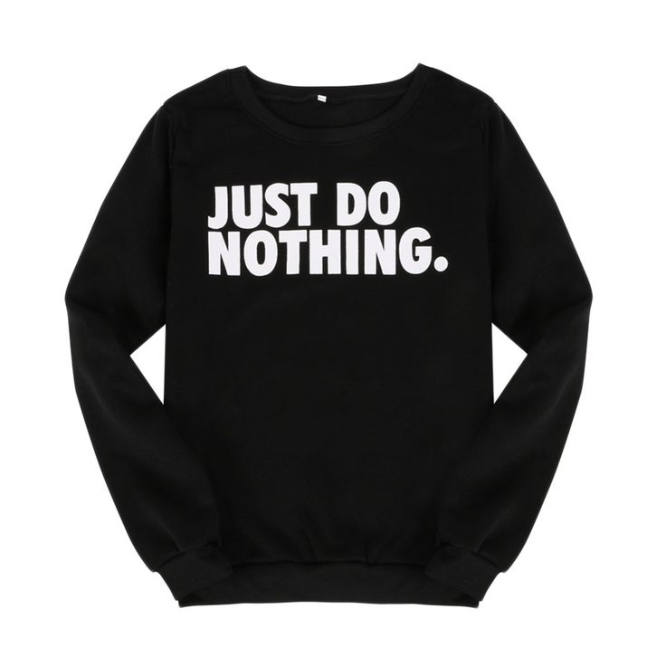 Women Sweatshirt Pullover Long Sleeve Letter Printed Casual Jumper Tops