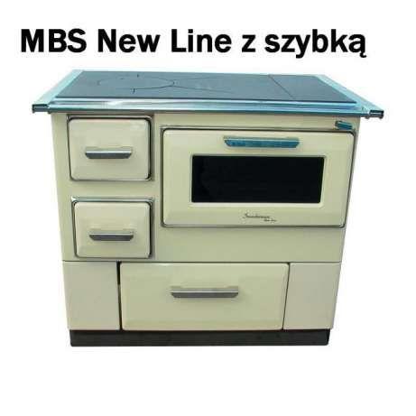 1 499 zł: Kuchnia węglowa emaliowana MBS 7 EU New Line 9,5 kW w kolorze…