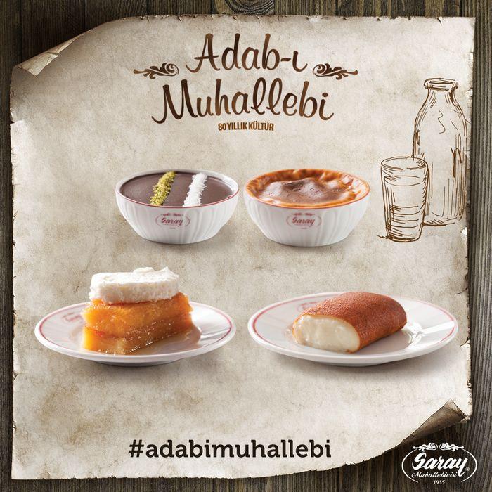 Adab-ı Muhallebi; geleneksel tatlılarımıza, süt kültürümüze ve özgün tatlarımıza sahip çıkmaktır.