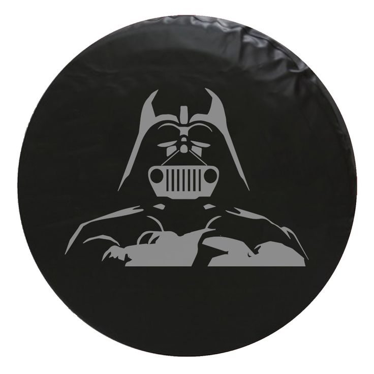 Jeep Darth Vader Star Wars Style Vinyl Spare Tire Cover