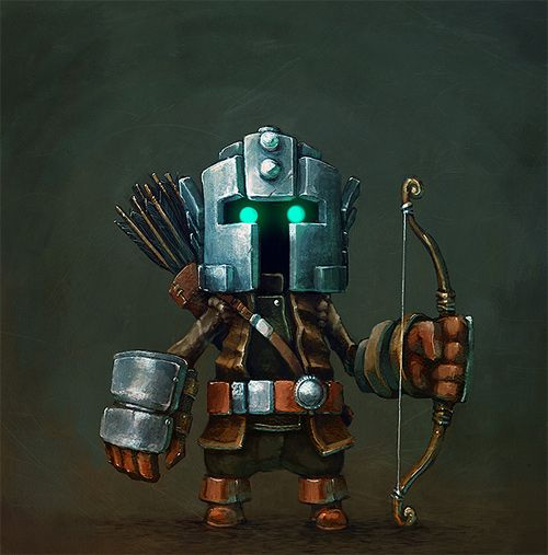 Who you get when you cross a hobbit archer with Boba Fett