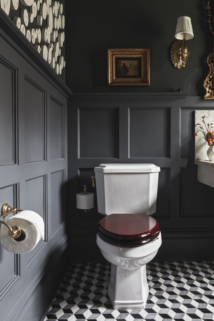 Fall One Room Challenge Week 6 Badezimmer Dekor Badezimmer Innenausstattung Und Badezimmer Im Erdgeschoss
