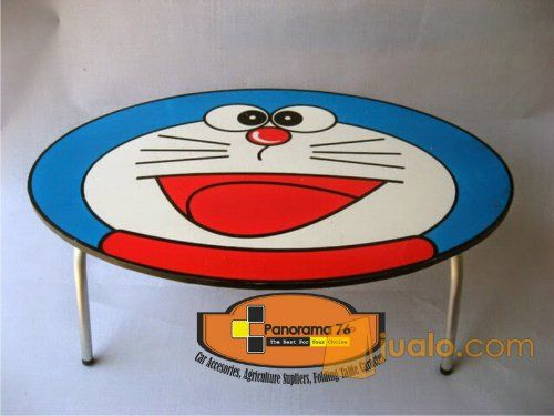 Meja Lipat Karakter Doraempn Lucu untuk anak-anak Retail/Grosir Meja Lipat Karakter Lucu untuk anak-anak ,ringan dan