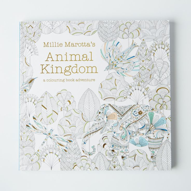 Millie Marotta's Animal Kingdom is a beautiful colouring in book. The drawings of the animal kingdom will inspire and surprise. 96 pages. Paperback.