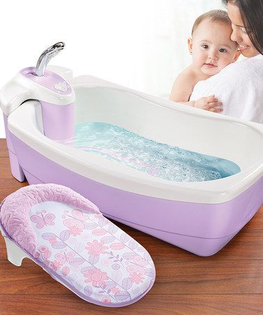 Another great find on #zulily! Violet Lil Luxuries Bubbling Spa & Shower by Summer Infant #zulilyfinds