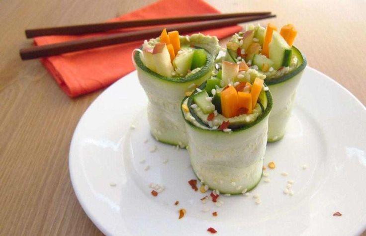 sushi de verdura