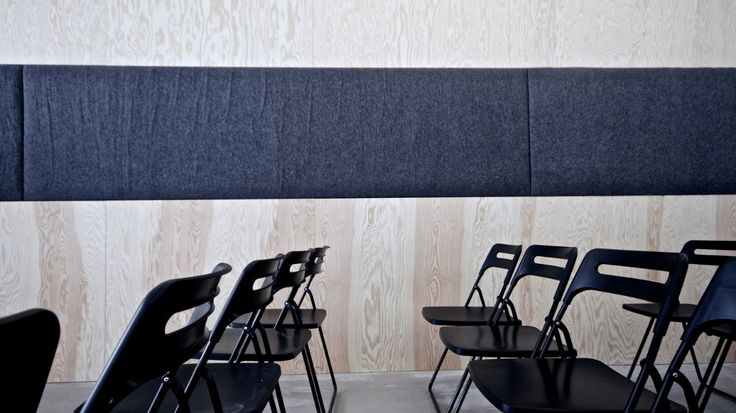 FeltRoll sound absorber from Rom & Tonik. 100% wool. www.rom-tonik.no