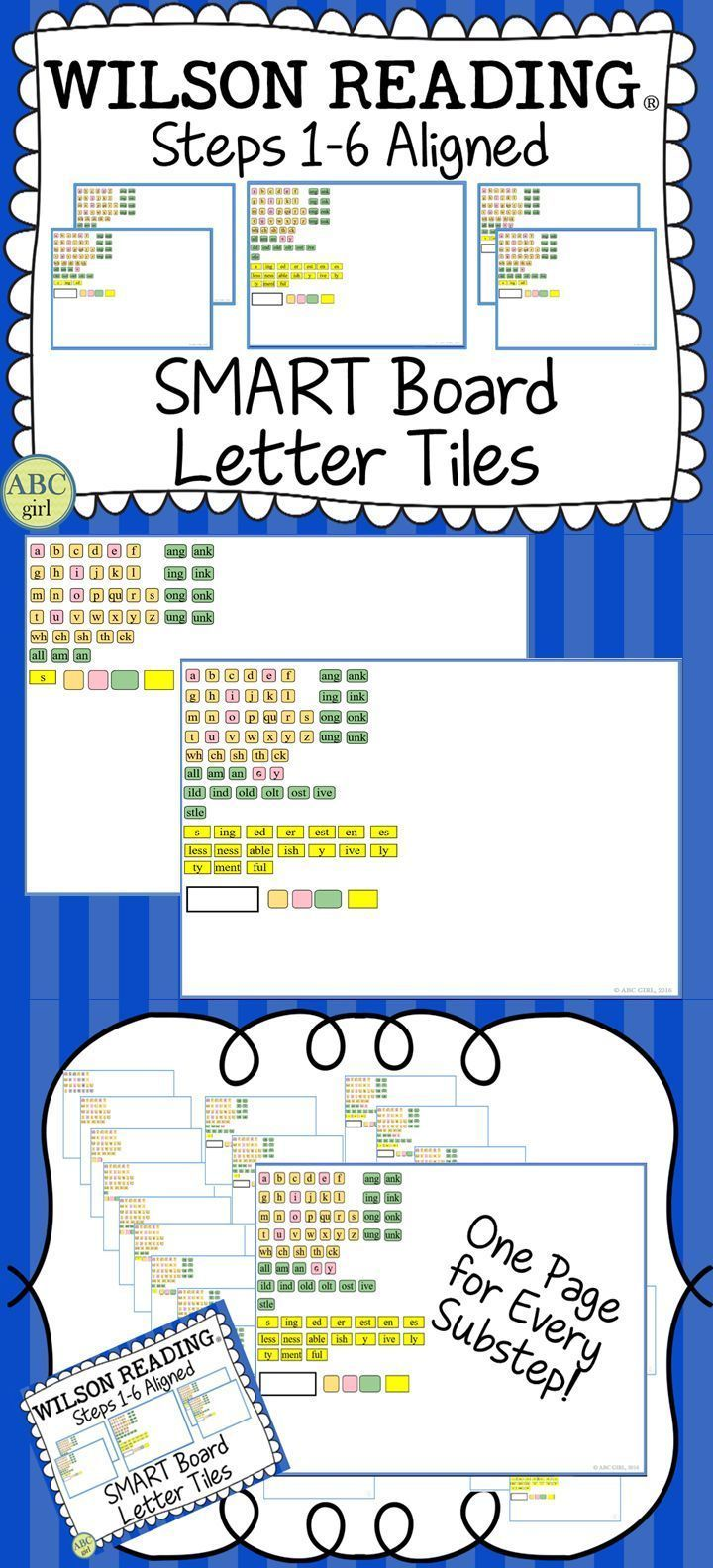 worksheet Wilson Reading Worksheets 27 best wilson reading system images on pinterest learning school steps 1 6 aligned smart board letter tiles never run
