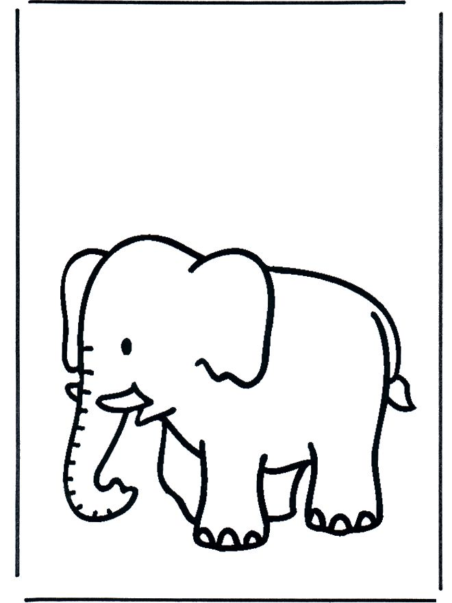 elephant coloring pages - Google Search