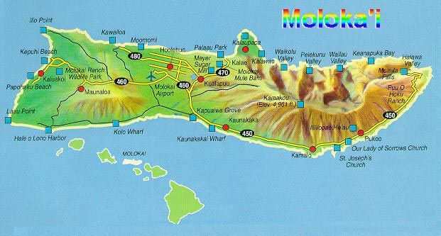 Molokai - The Friendly Island