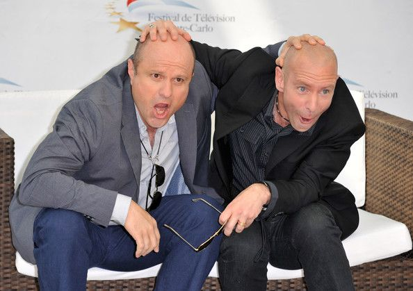 Enrico Colantoni (L) and Hugh Dillon (R) pose at a photocall for the TV series 'FLASHPOINT' during the 2010 Monte Carlo Television Festival held at Grimaldi Forum on June 8, 2010 in Monte-Carlo, Monaco.