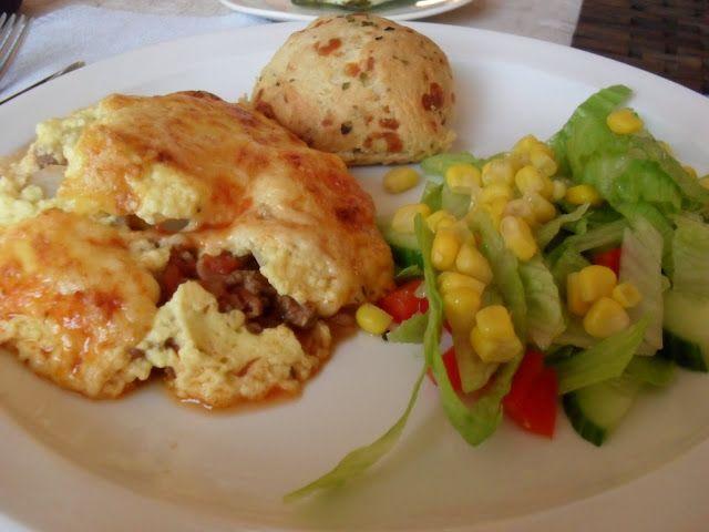 Holy macaroni!: Moussaka med poteter