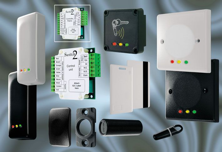 Standalone Access Control Systems - Keypad Control Panels