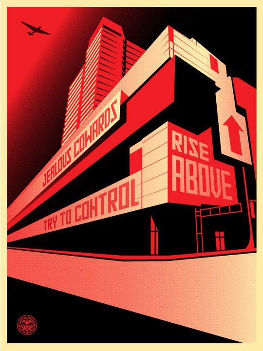 OBEY Try ti Control Galería virtual territoriotoxico.wordpress.com