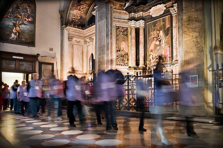 Interno della Cattedrale di San Giovanni Battista (Torino) - Ostensione della Sacra Sindone 2015 © Emanuele Fusco Photography