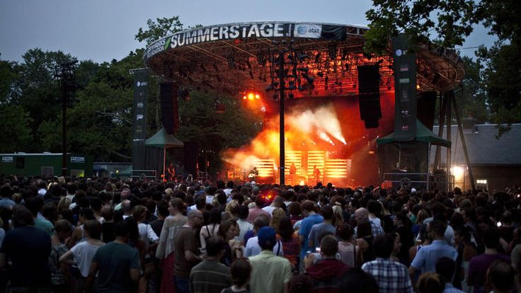 Best free concerts in NYC this summer including festivals