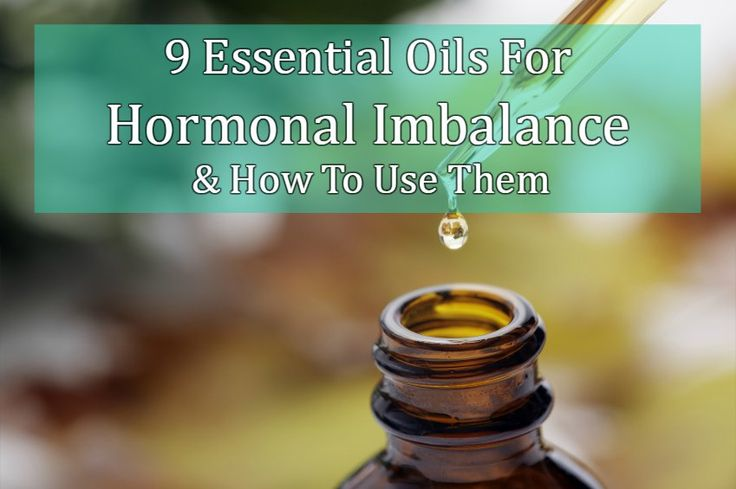 Hormonal imbalances are more varied than simple menopause symptoms. Essential oils are perfect for treating the imbalance.