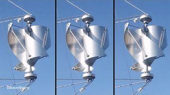 New Wind Turbine Design Good for Rural, Urban Environment - YouTube