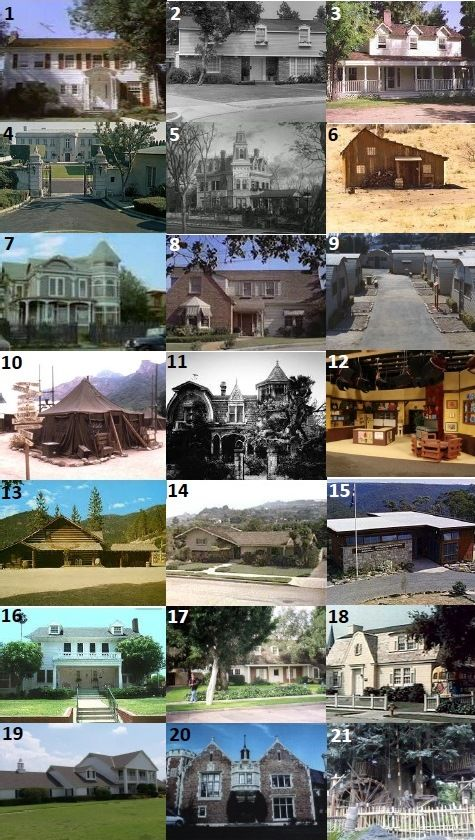 70s/80s HOMES - Can you name who lived in these homes from TV shows in the 70s and 80s?