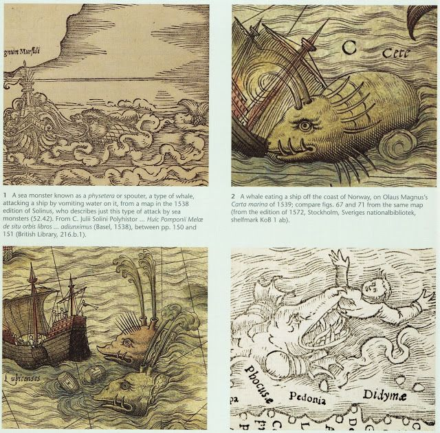 illustration from 'Sea Monsters' by C Van Duzer 2013 courtesy of publisher: British Library