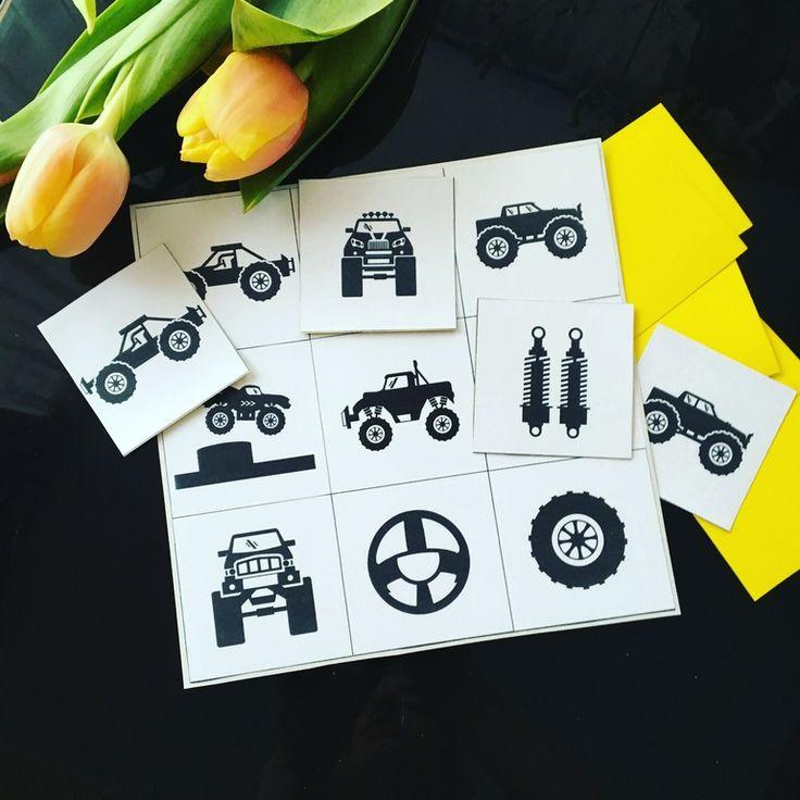 Monster trucks лото для мальчиков - Раннее развитие - Babyblog.ru