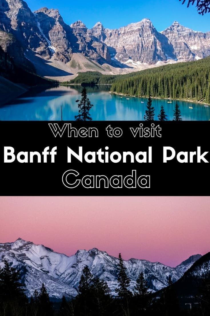 Do you want to know when is best the best time to visit Banff National Park? Find answer and plenty of tips.| Best time to visit Banff National Park | Things to do in Banff | Banff Canada | Banff National Park | Places to visit in Banff | Banff weather | Canadian Rockies | #banff #besttimetovisit #canada
