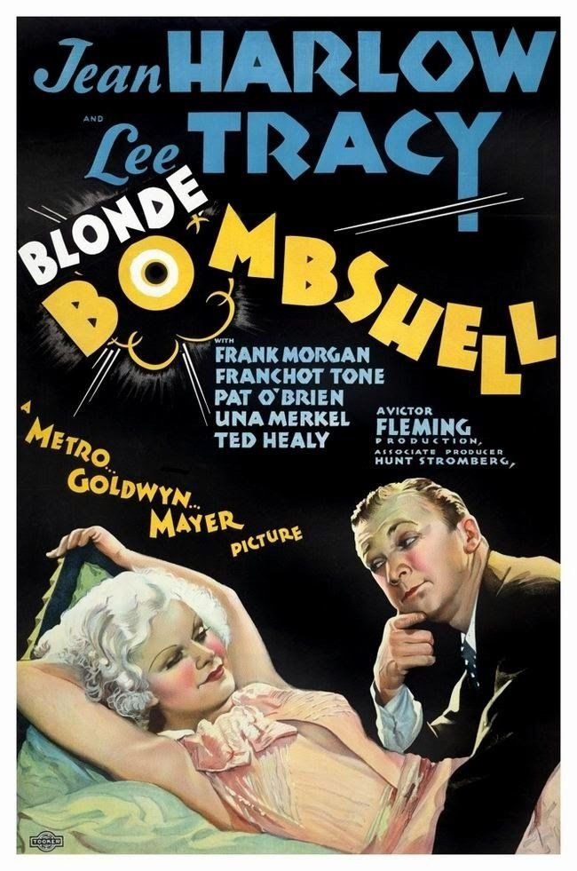 Bombshell (1933) Starring Jean Harlow, Lee Tracy, and Frank Morgan