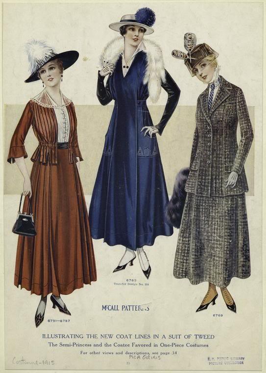 Fashion History - Edwardian Style of Late 1890s - 1914 | Bellatory