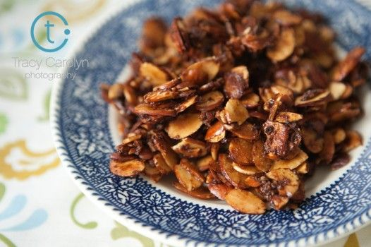 Candied Spiced Almonds | Desserts & Snacks | Pinterest