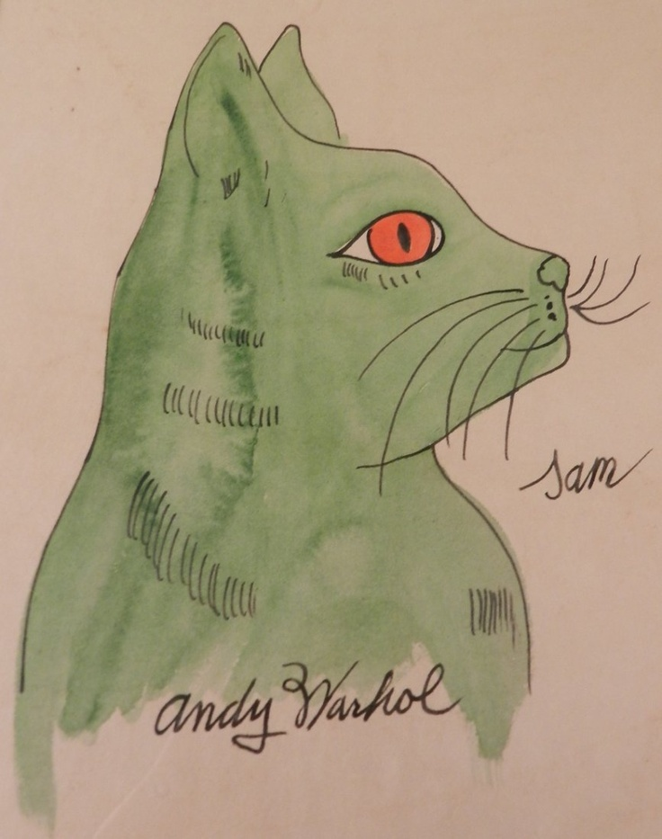 "Andy Warhol (American, 1928-1987), ""Sam the Cat"""