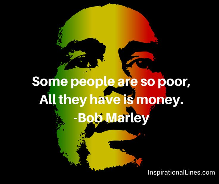 Some people are so poor, all they have is money