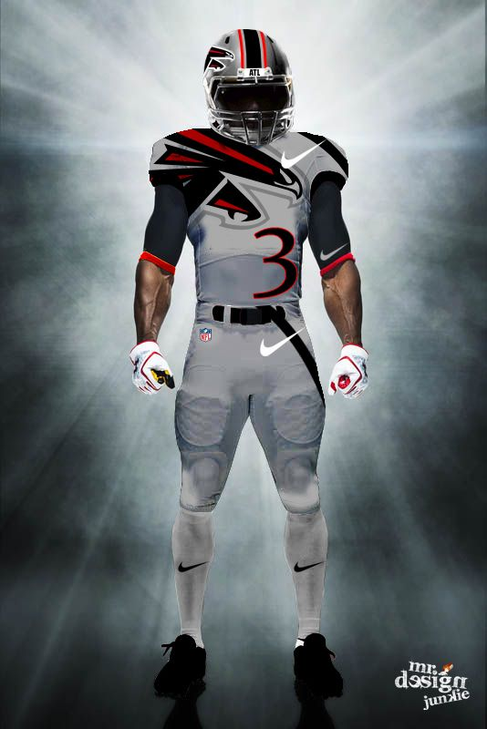 Twitter / MrDesignJunkie: NEW Atlanta Falcons concept ...