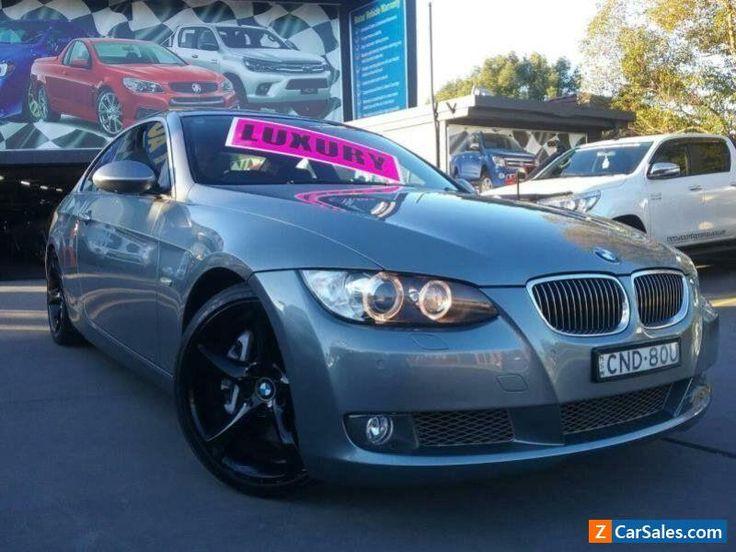 2007 BMW 335i E92 Silver Automatic 6sp A Coupe #bmw #335i #forsale #australia