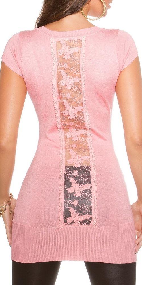 Dámská tunika - růžová