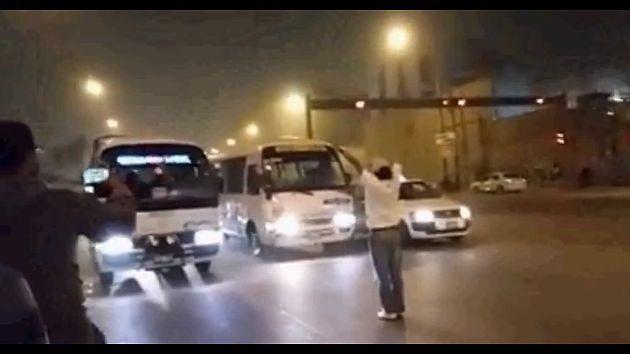 'Chosicanos' hacen piques a lo 'Rápidos y Furiosos' en la Carretera Central