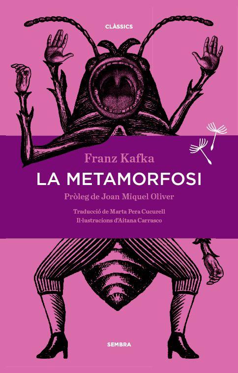 """Edició de """"La metamorfosi"""" a Sembra Llibres. Portada d'Aitana Carrasco."""