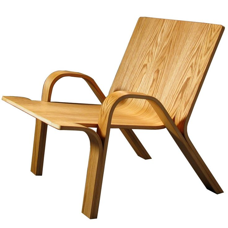 Ramified Armchair - bending plywood