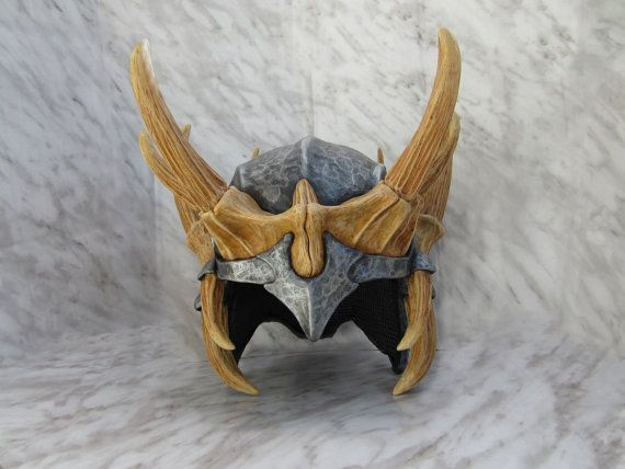 skyrim dragon bone helmet(The Jagged Crown )life size cosplay style apparel and display collectiable elder scrolls