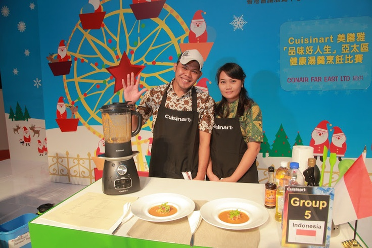 Indonesian Participants on Cuisinart Competition on Hongkong