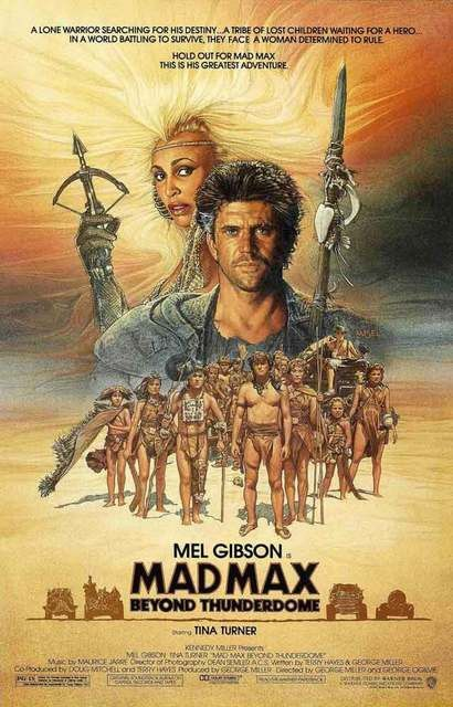 A great poster from Mad Max: Beyond Thunderdome, the 3rd installment of the George Miller film franchise starring Mel Gibson and Tina Turner! Ships fast. 11x17 inches. Need Poster Mounts..?