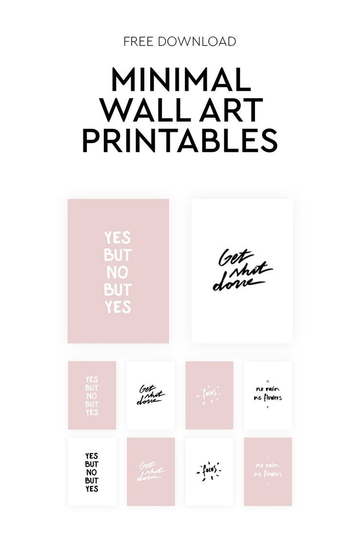 Apartment Tour My Office Corner Free Gallery Wall Printables