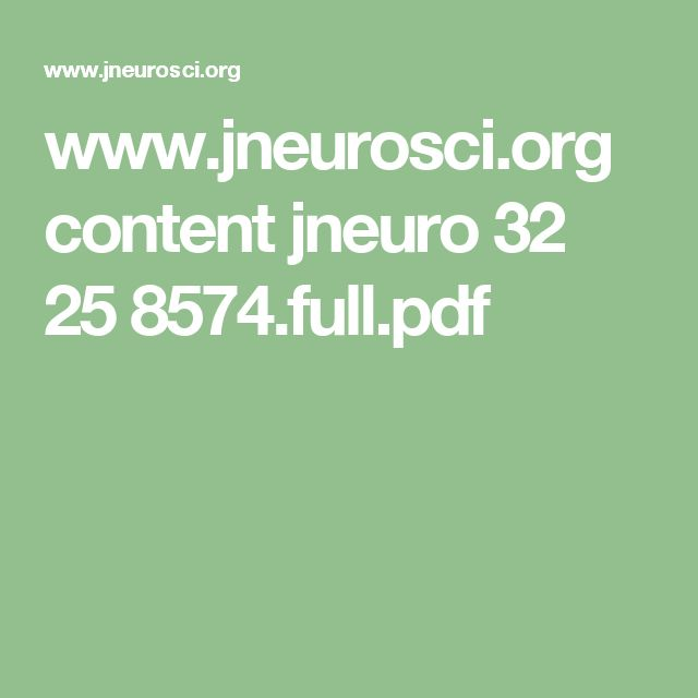 www.jneurosci.org content jneuro 32 25 8574.full.pdf