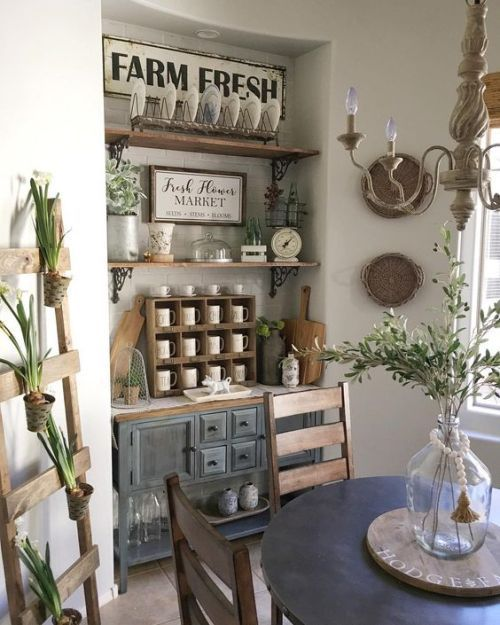 Beautiful farmhouse style. Instagram