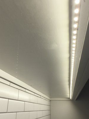 Led Undercabinet Lighting Used In My Kitchen Remodel Angled So As