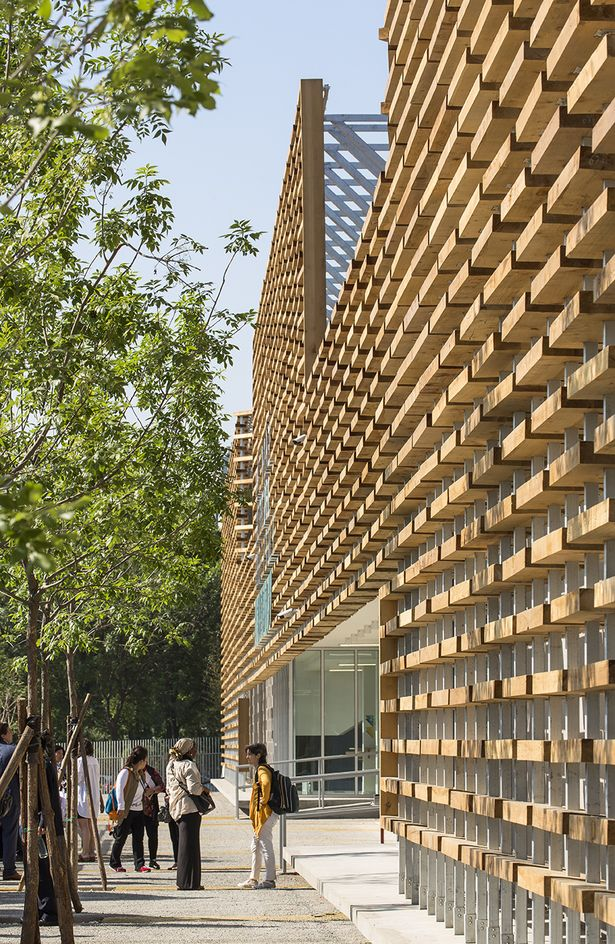 The French International School of Beijing (LFIP) | Jacques Ferrier Architecture; Photo: Luc Boegly | Archinect